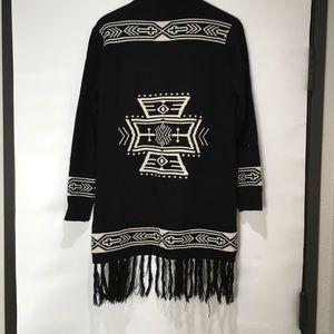 Lira The Dare Fringe Aztec Sweater